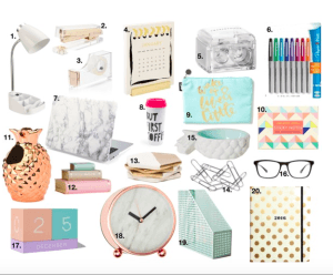 holiday gift guide desk