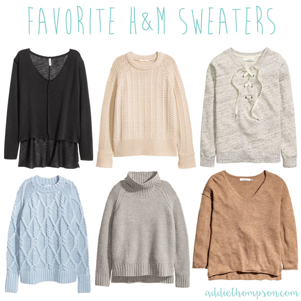 favorite hm sweaters